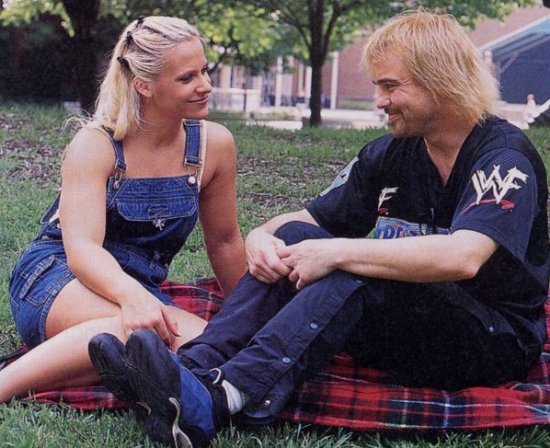 With Spike Dudley